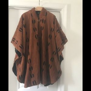 Jackets & Blazers - Women's Lined Cape Poncho